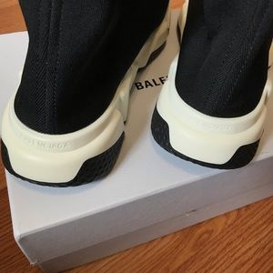 Balenciaga Shoes - Balenciaga Speed Trainers Black White